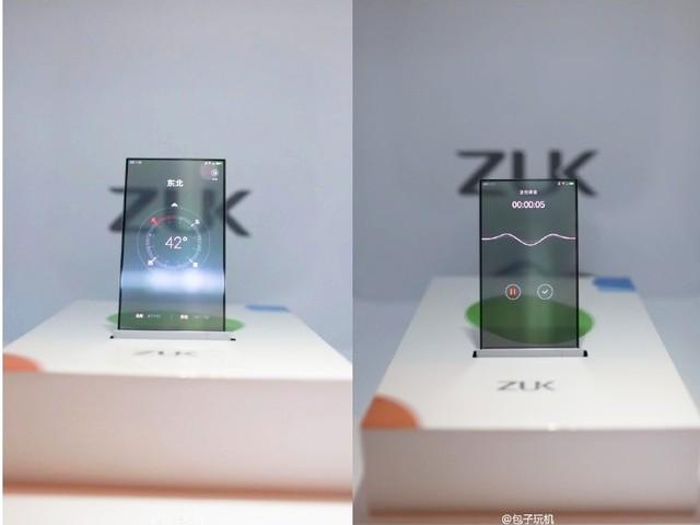Smartphone màn hình trong suốt của lenovo sắp ra đời