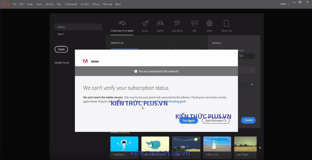 Hướng dẫn cài Adobe Animate CC 2019 Full Vesion