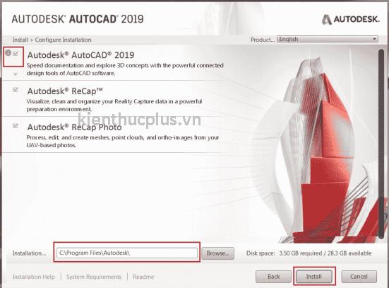 Hướng dẫn Cr@ck AutoCad 2019 thành công 100% 3