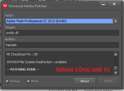 Adobe Flash Professional CC 2015 Full Key 100%