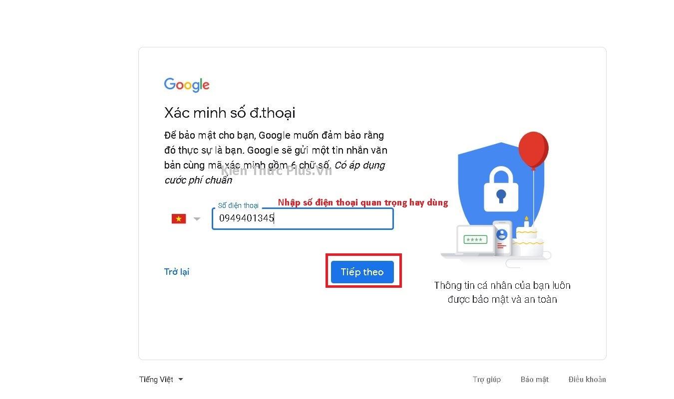 Hướng dẫn cách đăng ký Gmail làm Youtube 2020