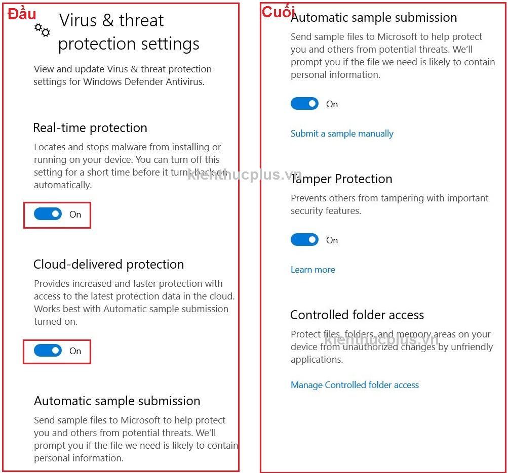 Cách tắt Windows Security trên Windows 10 3