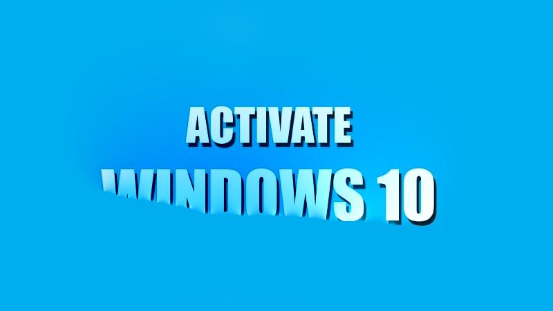 Active Windows 10 thành công dùng vĩnh viễn