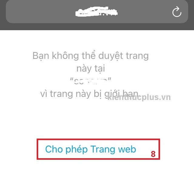 Chặn website xấu nên sử dụng