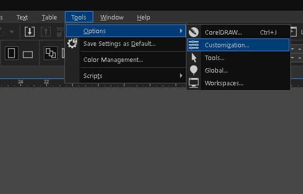 Làm thế nào đổi màu cho CorelDRAW?