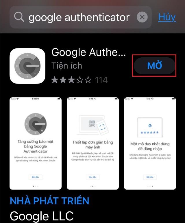 Google Authenticator công cụ bảo mật cực hay